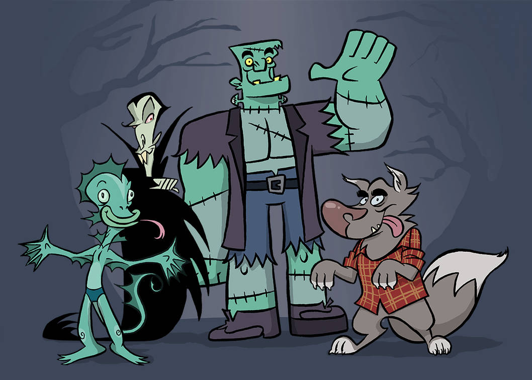 Monster Group by borogove13