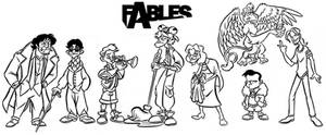 Some Fables Characters