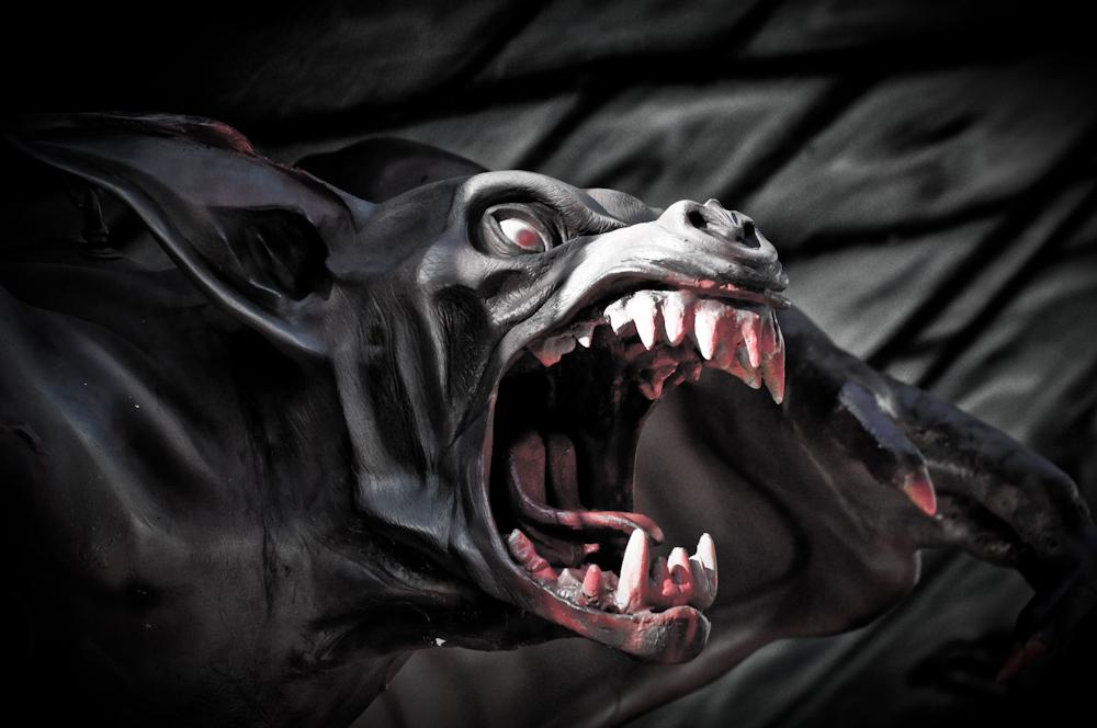 Scream gargoyle by Seafoxmccloud