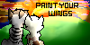 Paint Your Wings Stamp by Cleverpelt