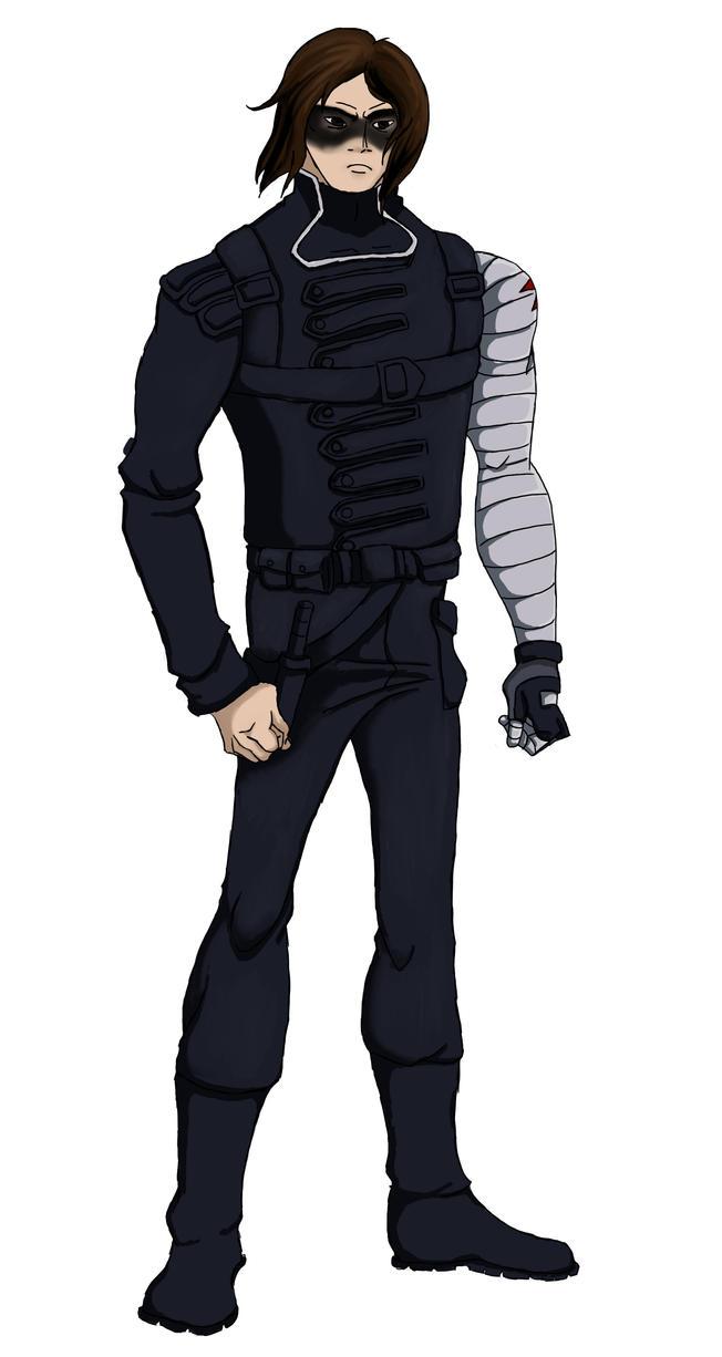 YJ!Winter Soldier by sweetfoxgirl