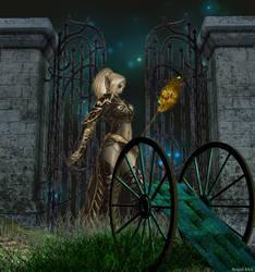 Fantasy Kriegerin by Schnupphase