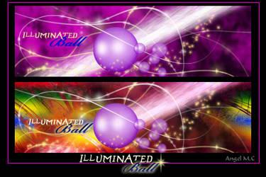 Illuminated Ball by Schnupphase