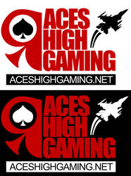 AcesHighGaming.net - Logo by xentrox