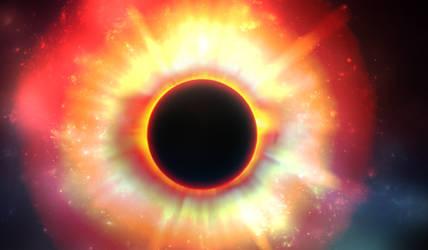Sun/Eye by xentrox