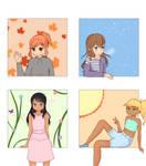 4 Seasons!!