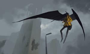 Apocalyptic Angel by dante-cg