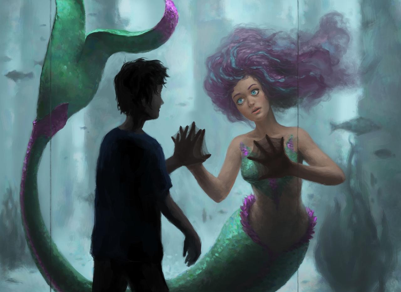 Mermaid Encounter by dante-cg