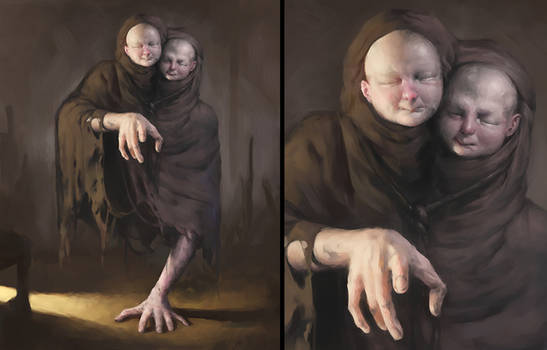 Twin Victim (Silent Hill: The Room fan art)