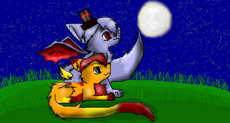 Sokie and shade_ Best friends x3