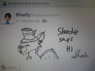 Shade drawing game pad tablet of Wii U by Shade-C-Llewellyn