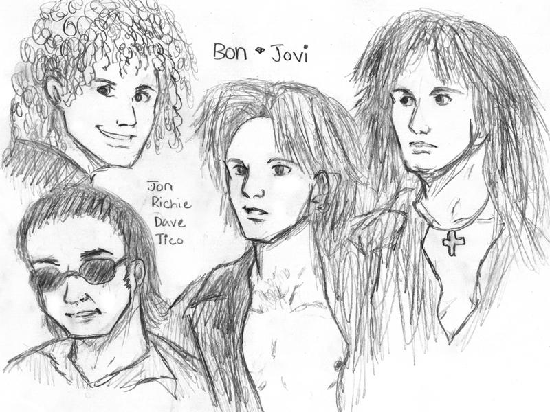 Bon Jovi by Courtney09