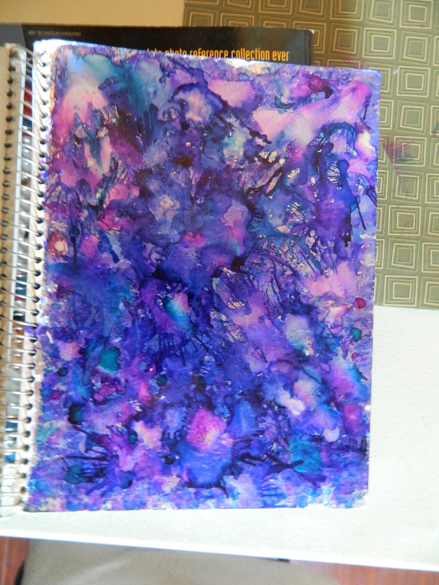 Cool Textbook Cover Ideas ~ Inky sketchbook cover by argmatey on deviantart