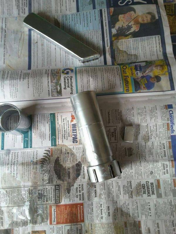 my lightsaber in work by Bleachfan3423