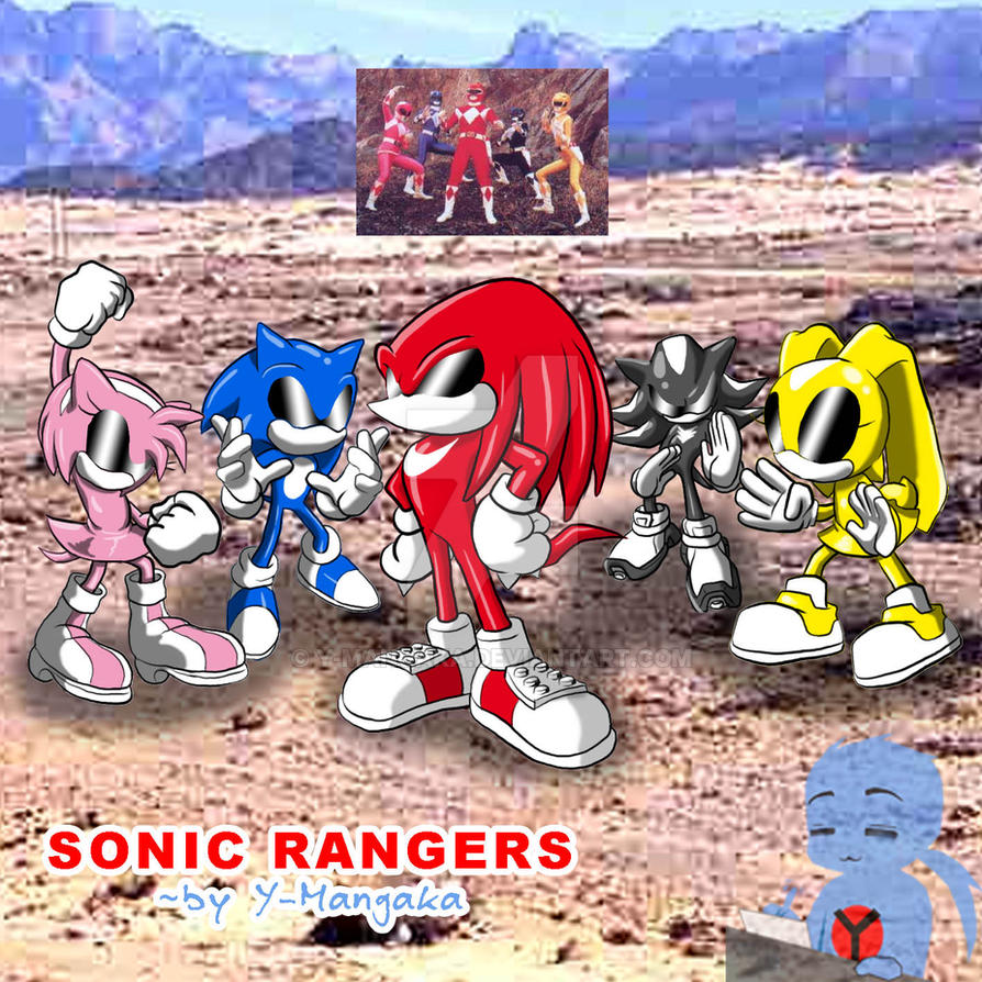 Sonic Rangers by Y-Mangaka