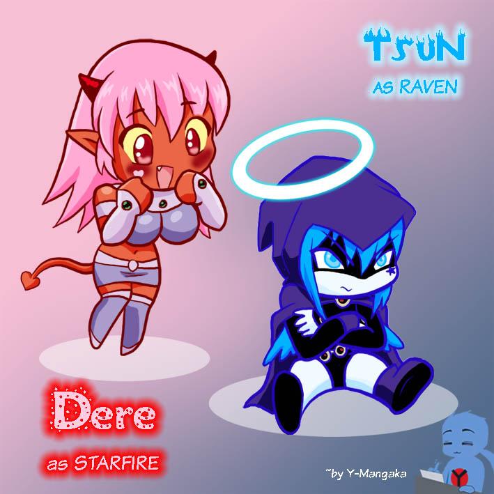 Tsun-Dere cosplay Teen Titans by Y-Mangaka
