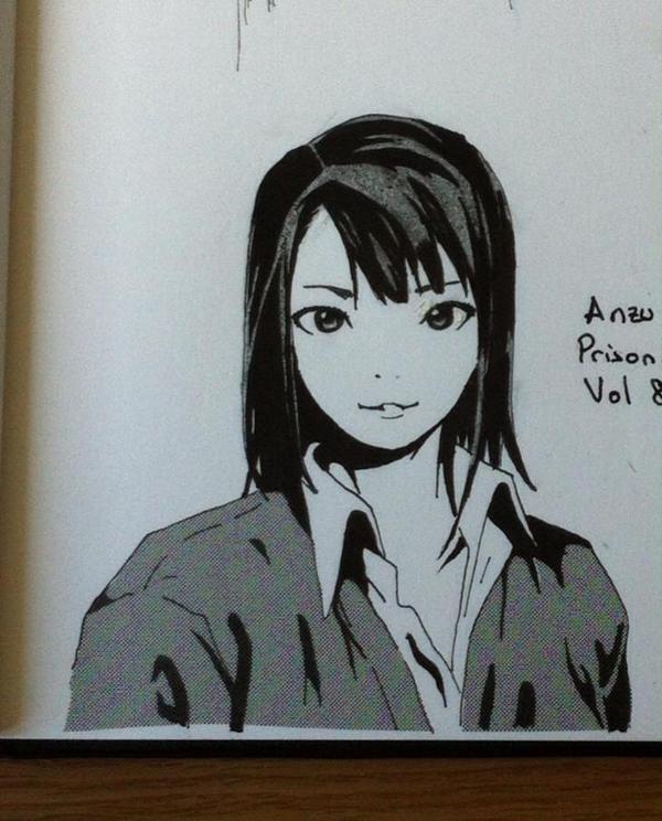 Anzu from Prison School by elfooscuro