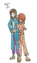 Raynie and Lam by Kerii-chan