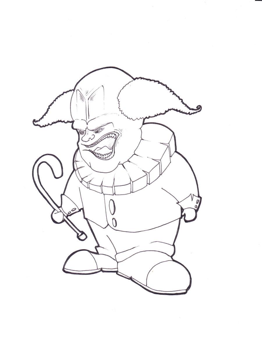 Evil Clown by Conopida on DeviantArt