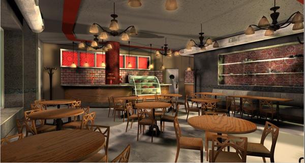 design cafe interior - photo #40