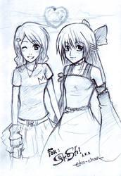 Sketch: for Sekoshi by Hyuei
