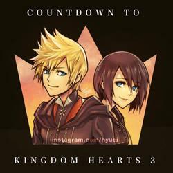 KH 3 Countdown : Roxas  Xion