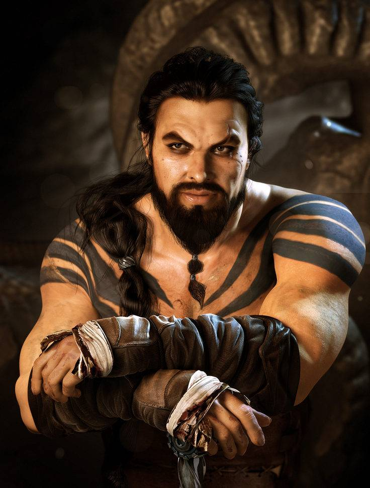 dibujos - dibujos de  Khal Drogo I_do_not_own_this_artwork_but_still___my_favourite_by_helpmelosemymind-d8fched