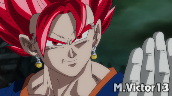 Vegetto Red by Mvictor13