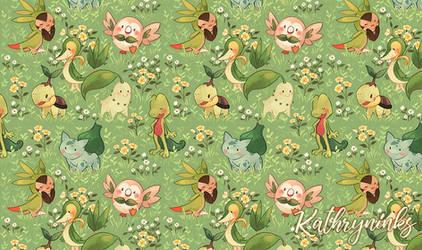 Pattern: Grass Starters
