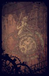 My chrono guardian angel. by jocaey