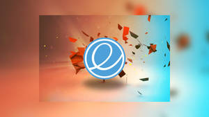 elementary os Blur red/blue