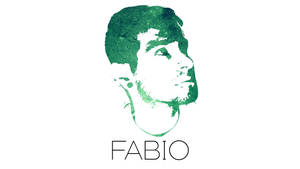 Fabio's face with galaxy green