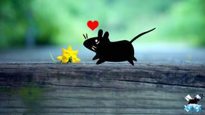 Xfce love flower