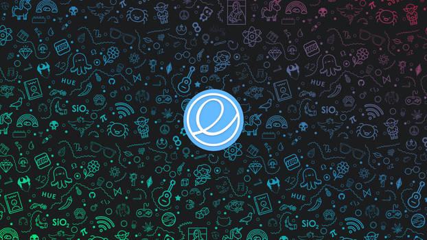 Eos logo Wallpaper 4k