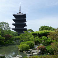 To-ji Pagoda in Kyoto by five11a