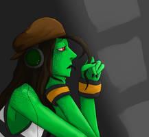 Music in the Dark by Envyfan