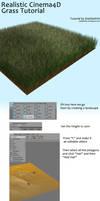 Realistic C4D Grass Tutorial