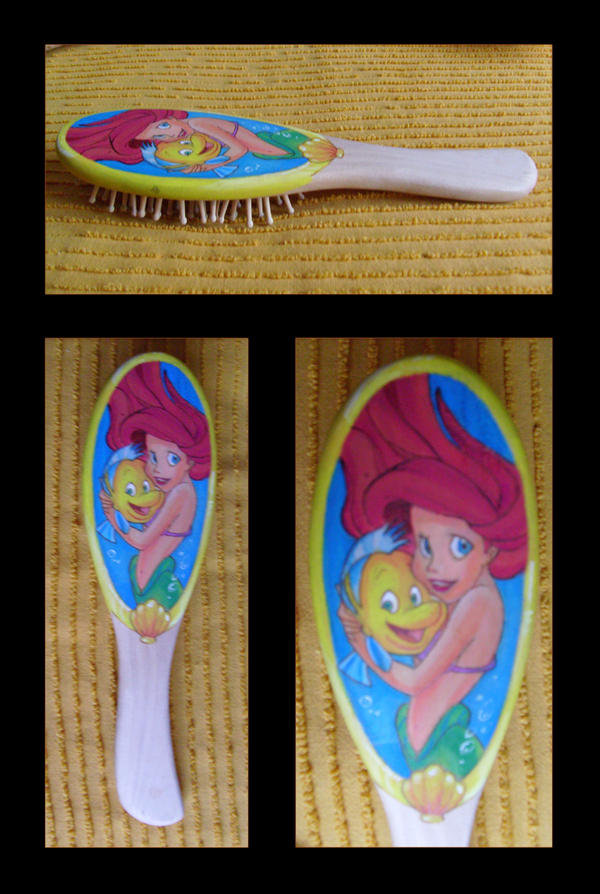 Ariel's brush by Ermy