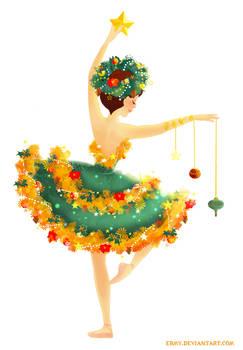 Christmas Tree Ballerina