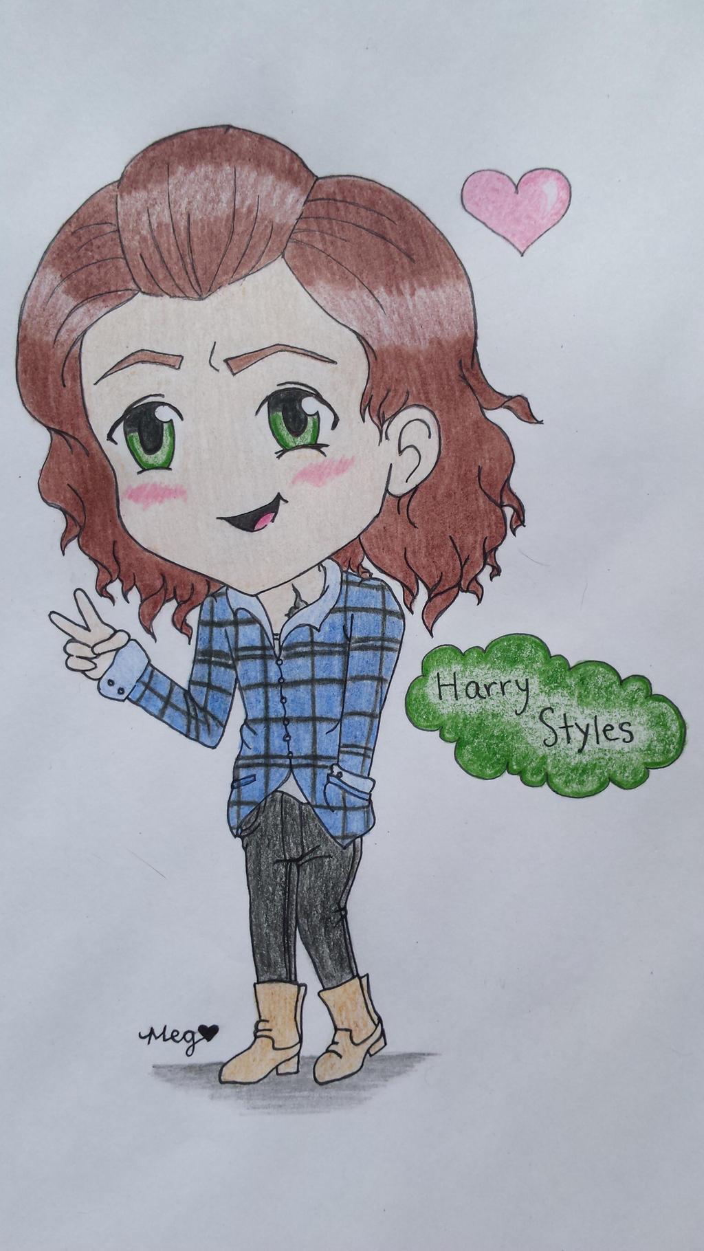 Chibi Harry Styles By Megimoose98 On Deviantart