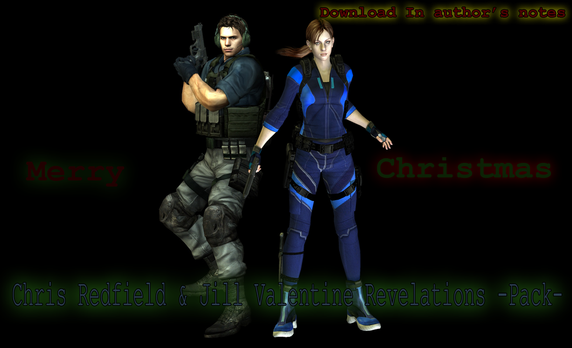 Chris and Jill Revelations(Available for Download) by xXLife-Starts-NowXx