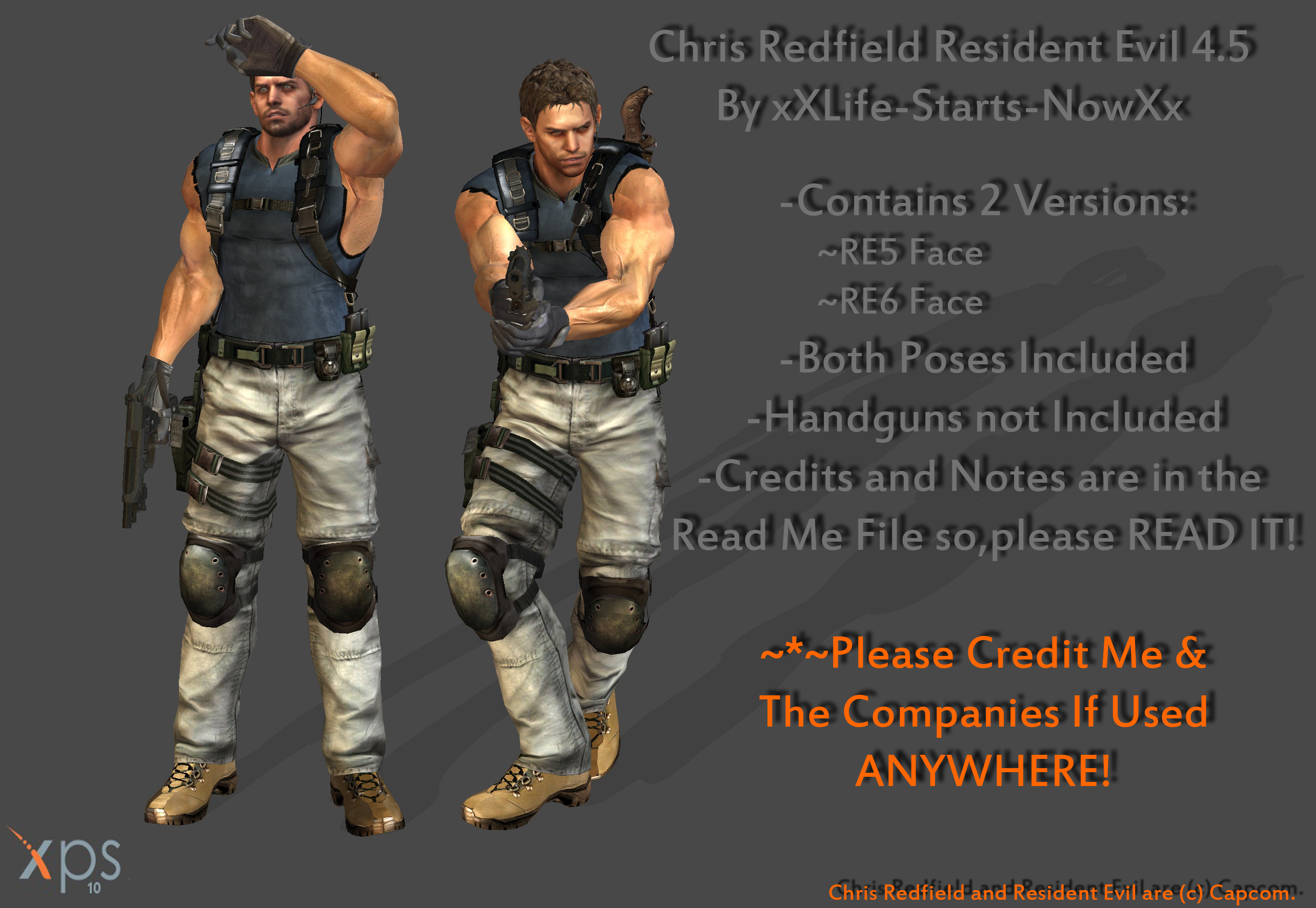 Chris Redfield Re 4 5 Beta Download Available By Xxlife Starts