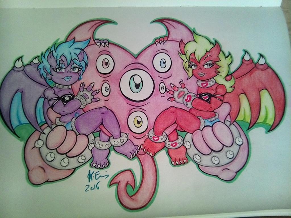 demon sweet hearts by skullpunk666girl