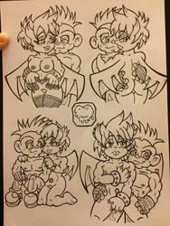 Monster fighter x virus by skullpunk666girl