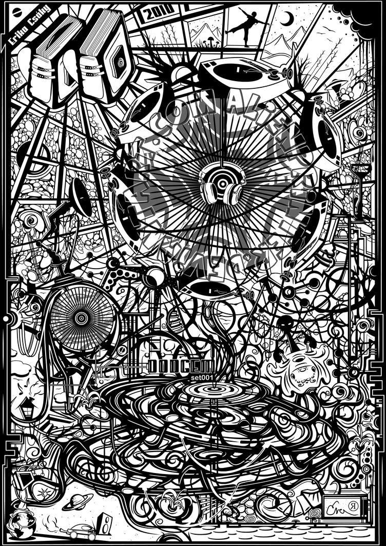 -Dodgem-set001- by AlienPrinter
