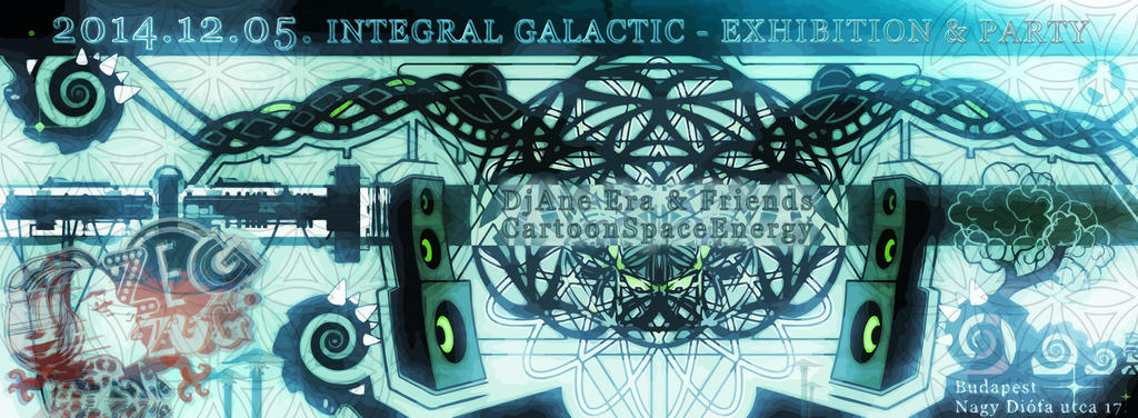 My next exhibition-2014-12-05-ZegZug--Budapest by AlienPrinter