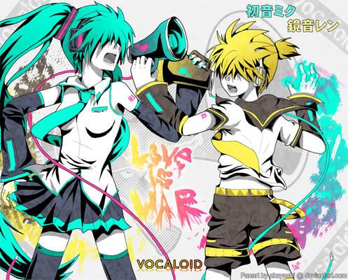 Vocaloid - Love is War