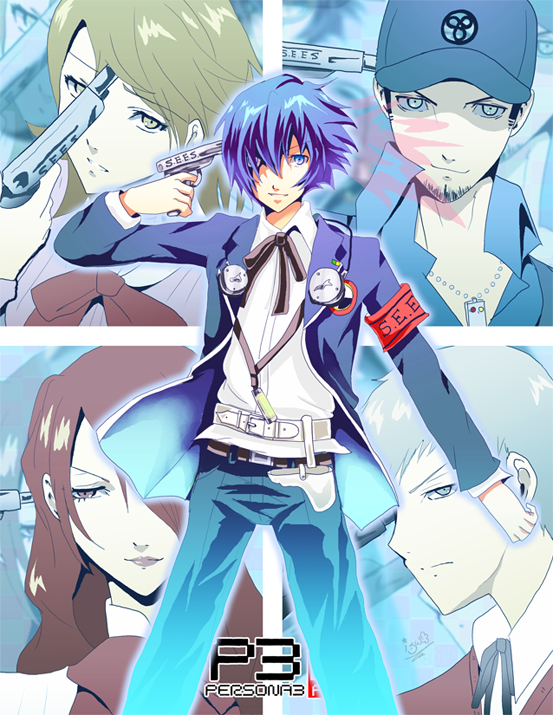 Persona 3 - Evoker by akayashi