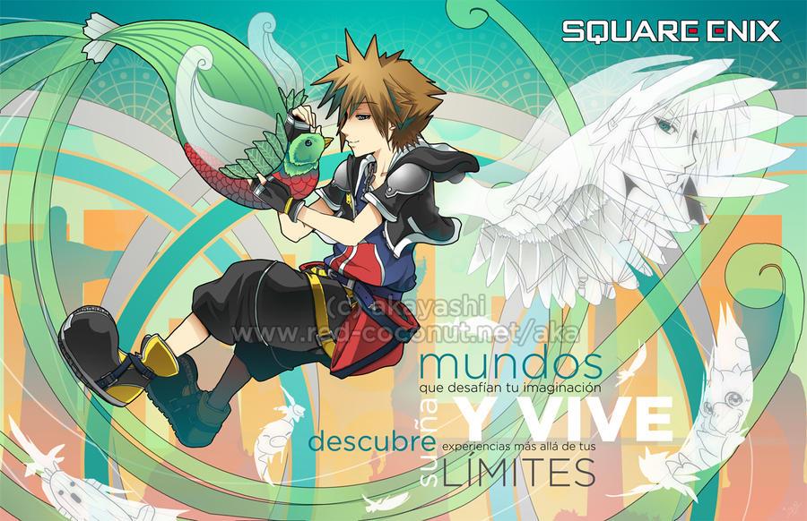 Square Enix - Latin America by akayashi