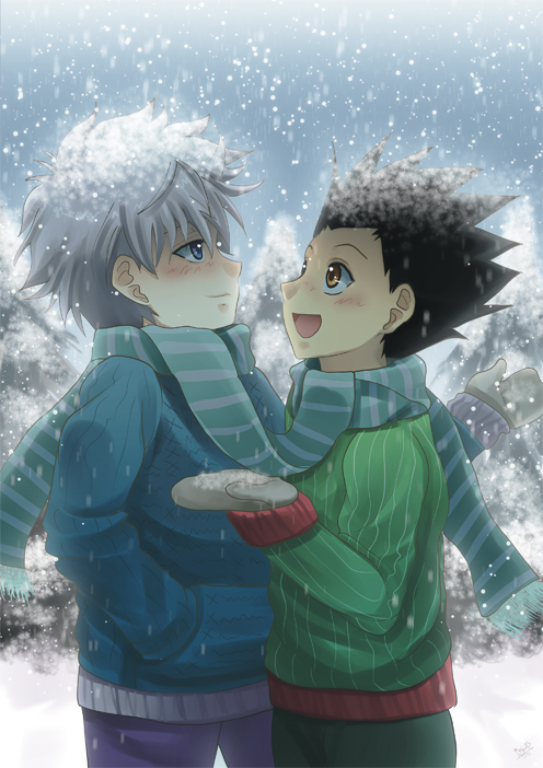 Ss Gon X Killua By Akayashi On Deviantart